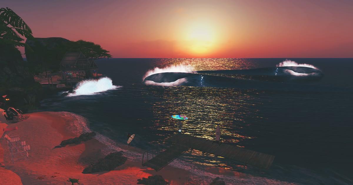 Aussie Shores Surf Up Second Life