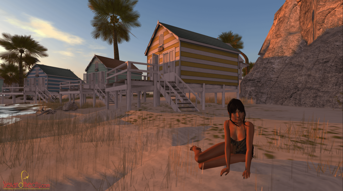SL home on Baja Sims