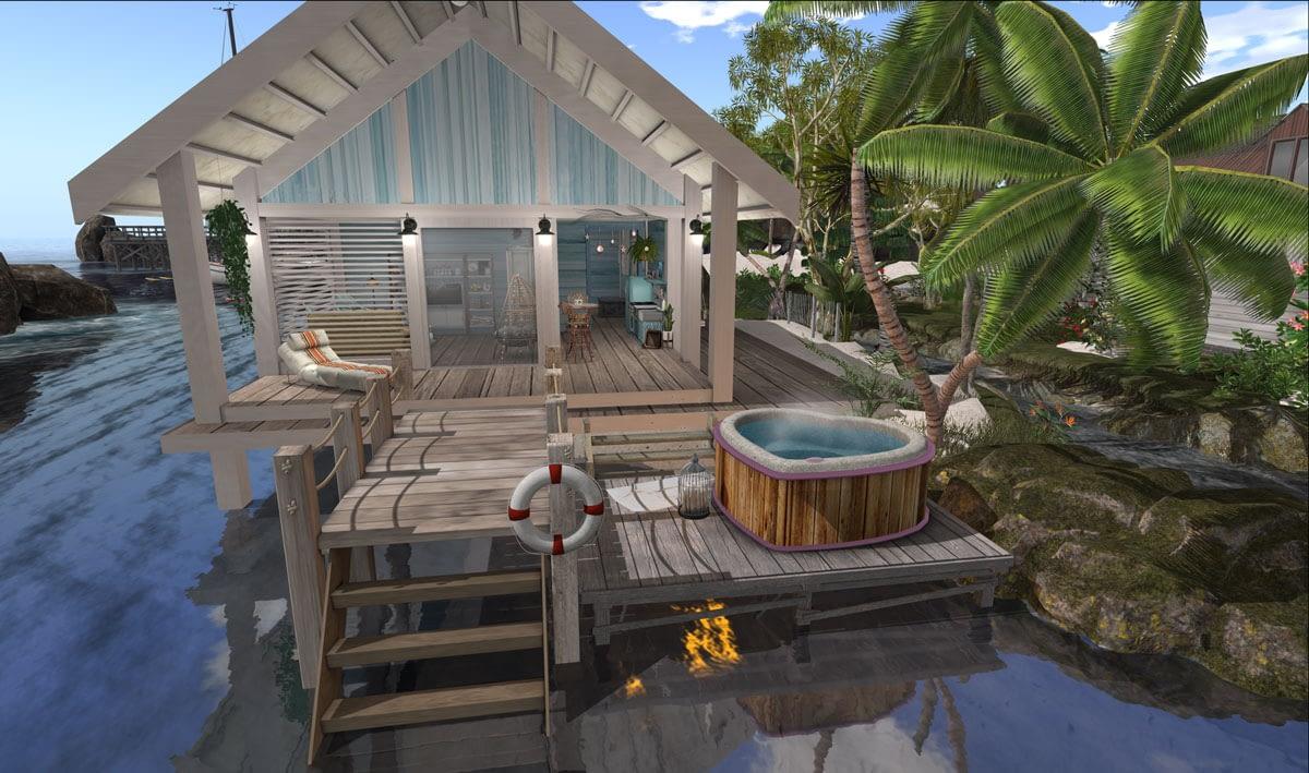 Barefoot Bungalow Aussie Shores 2019 Second Life