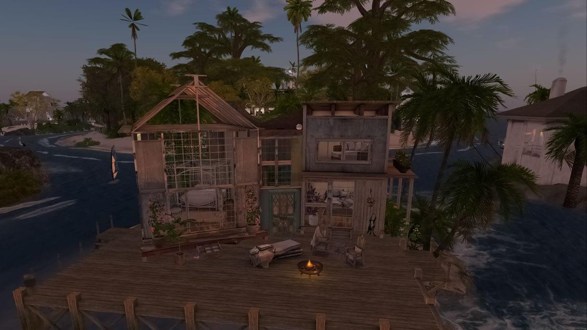 Aussie Shores Second Life Rental Mr T house 2