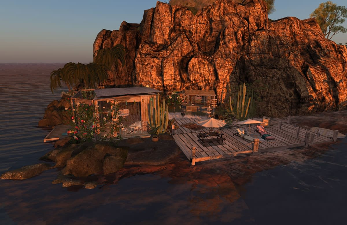 Bliss By The See Aussie Shores Second Life rental